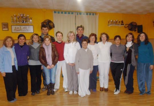 Participantes del Taller de Propósito de vida, Activación de la Maestria Personal y Registros Akáshicos en Rubi, Barcelona, Enero 2012